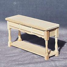 Dollhouse Table, Mini Simulated Bedroom Table Desk
