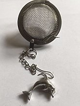 Dolphin 2x3cm TG228 Tea Ball Mesh Infuser