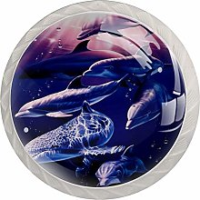 Dolphin Cabinet Door Knobs Handles Pulls Cupboard