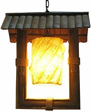 Dome Light Bamboo Decoration Chandelier, L