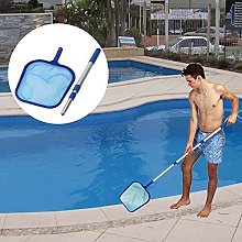 Domeilleur Pool Leaf Cleaning Net Skimmer with