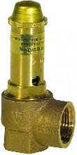 Domestic hot water safety valve bronze body FF