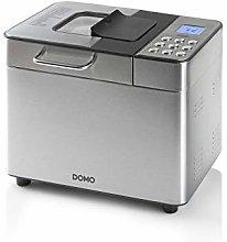 Domo B3971 Bread Maker, Plastic, Black, Silver