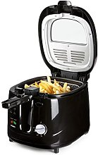 Domo DO461FR ABS B Smart Deep Fryer, 2200 W, 2.5