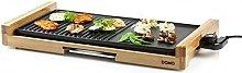Domo DO8311TP Wood Aluminium Teppanyaki Grill,