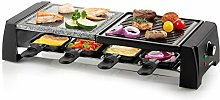DOMO DO9190G Stone and CAST Indoor/Outdoor Grill,