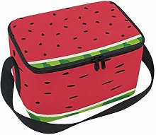 Domoko Red Watermelon Fruit Skin Insulated Lunch