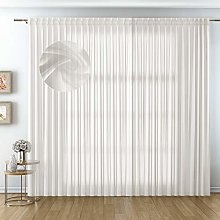 domus&trend Voile Curtains for Home Elegant