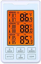 Donci Wireless Indoor Outdoor Temperature Meter
