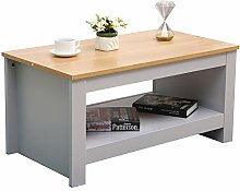 DONEWELL Furniture Coffee Table Small Side Storage
