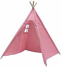 DONGKIKI Teepee Tent For Kids, Foldable Children