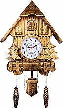 DongSheng Cuckoo Wall Clock with Bird Voicesilent