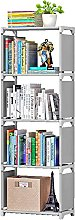 Dongxiao Bookends for Shelves 4 Tier Bookcase