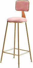 Dongy Bar stools Barstools Chair With Back Rest