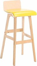 Dongy Barstools Solid Wood Stool, Bar Stool with