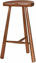 Dongy Home Bar Furniture Wooden Barstool Breakfast