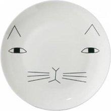 Donna Wilson - Mog Plate - White/Black