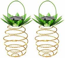 Donpow Solar Lantern, Outdoor Pineapple Solar
