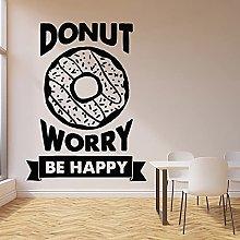 Donut Wall Decals Interior Decoration Door and