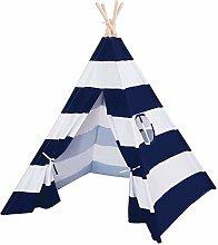 Doolland 4pcs Wooden Poles Teepee Tent for Kids