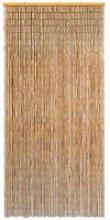 Door Curtain Bamboo 90x200 cm QAH10000 - Hommoo