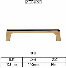 Door Drawer Golden Pulls Modern minimalist