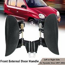 Door handle exterior front passenger side left