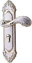 Door Handles Door Lock with Key Bearing Wooden