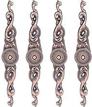 Door Knob, Exquisite Wardrobe Handle 4 Set Stable