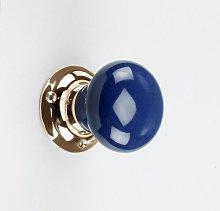 Door Knob Symple Stuff Colour: Dark Blue