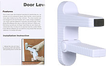 Door Lever Baby Safety Lock Prevents Toddlers from