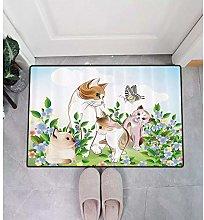 Door mat 3D printing area matNature Decor Nursery
