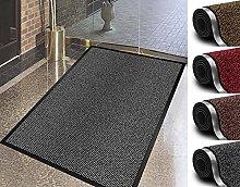 Door Mat For Indoor & Outdoor 100x170cm Grey