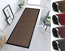 Door mat for Indoor & Outdoor,60x150cm Brown Non