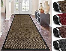 Door mat for Indoor & Outdoor,60x180cm Beige Non