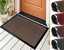 Door Mat For Indoor & Outdoor 60x90cm Brown