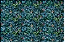 Door Mat Front Indoor Outdoor Doormat,Botanical
