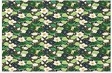 Door Mat Front Indoor Outdoor Doormat,Lily Pond