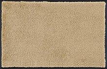 Door Mat Sand Yellow 50x75 cm beige