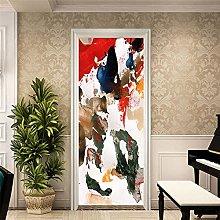 Door Mural Wallpaper Self Adhesive Decor 3D Door