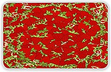 Door rug 16x24inch seamless wallpaper for holiday