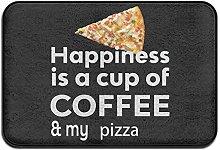 Door Rug,Outdoors Mats,Doormats Happiness Coffee