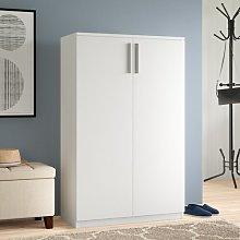 Door Shoe Storage Cabinet Symple Stuff Finish: