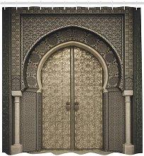 Door Shower Curtain East Urban Home