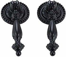 Doorknobs 2Pcs Antique Pull Handle Wardrobe Door