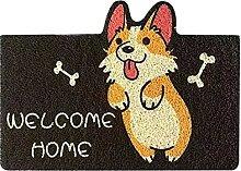 Doormat Non-Slip Soft House Door Mat Entrance Mat