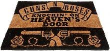 Doormat (One Size) (Black) - Guns N Roses