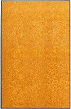 Doormat Washable Orange 120x180 cm - Orange