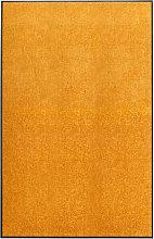 Doormat Washable Orange 120x180 cm