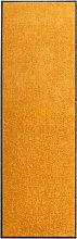 Doormat Washable Orange 60x180 cm
